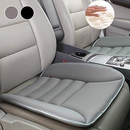 Sitzkissen Universal Sitzauflagen Autositzbezüge Bambuskohle Pu Leder Sitzauflage Beige Auto