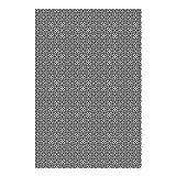 Alfombra Vinílica Flores Geométricas, 300 x 200 cm, Color Gris, ALV-100-GR