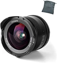 7artisans 12mm F2.8 APS-C Wide Angle Manual Fixed Lens for Canon EF-M Mount Camera Like M1 M2 M3 M5 M6 M10