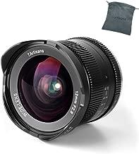 7artisans 12mm F2.8 Manual Fixed Lens APS-C Wide Angle for Sony E-Mount Camera Like NEX-6R NEX-7 A3000 A5000 A5100 A6000 A6300 A6500 …