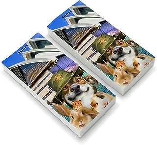 Sydney Opera House Australia Dog Rabbit Guinea Pig Eraser Set of 2
