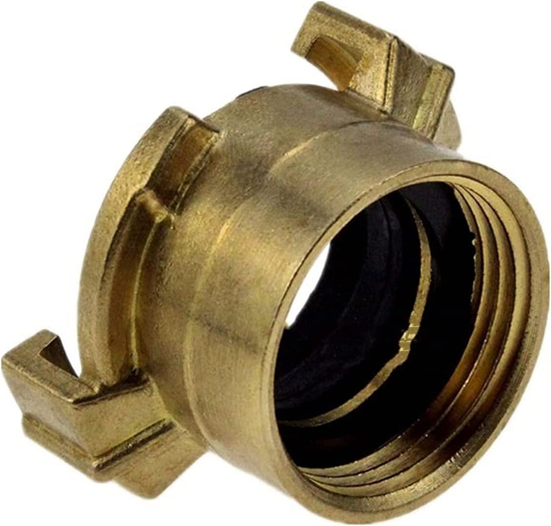 Bclla Zkenyao-Brass Max 88% OFF Connector Garden Hose Male Parts A surprise price is realized Thre Female