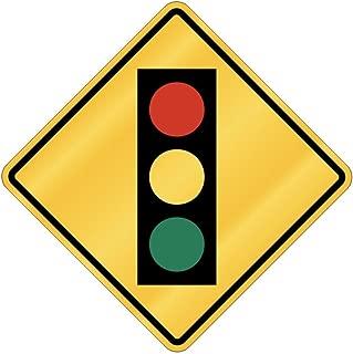 Traffic Light ahead - Utilitaries [ Decorative Crossing Sign Wall Plaque ]
