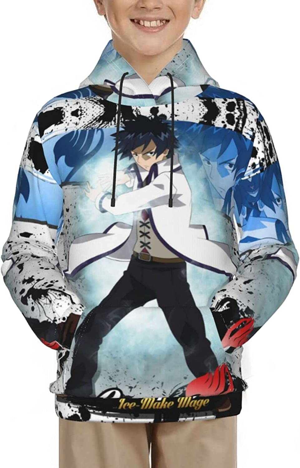Fairy Tail Youth Hoodie Anime And Pullover Cash New color special price Boys hooded Gir