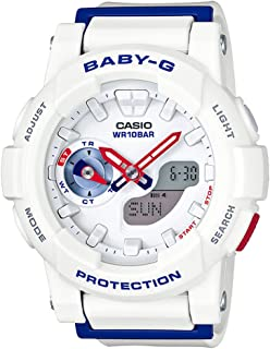 G-Shock BGA-185TR-7A White Tri Color Series - White/One Size
