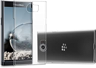 kwmobile Crystal Case for BlackBerry Priv - Hard Durable Protective Smartphone Cover - Transparent