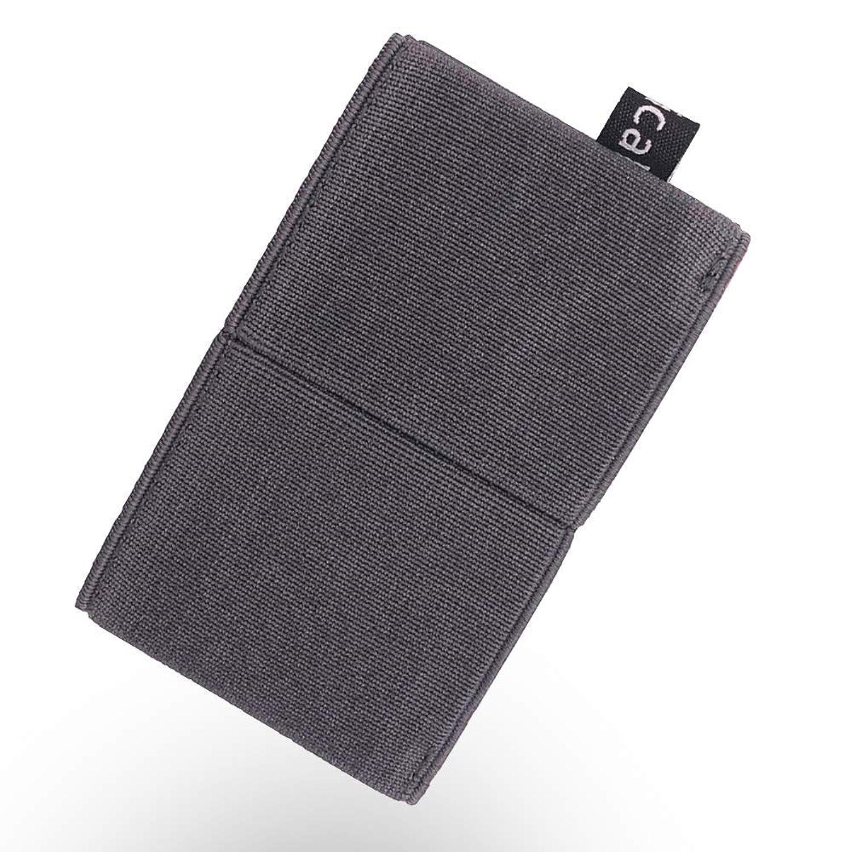 Rasical (ラシカル) 減らす財布 ニルウォレット ミニマリスト向けに作った コイン、紙幣、カードもこれ一つ ミニウォレット カードケース ゴム 旅行 男女兼用 メーカー保証 小カラビナ付き
