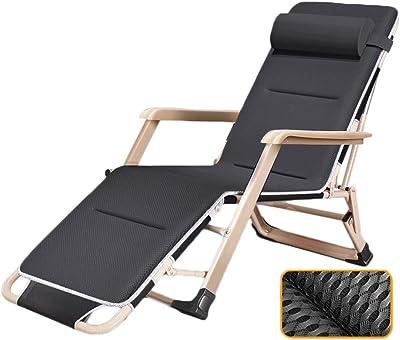 Amazon.com: ZHIRONG - Sillones reclinables para jardín, con ...