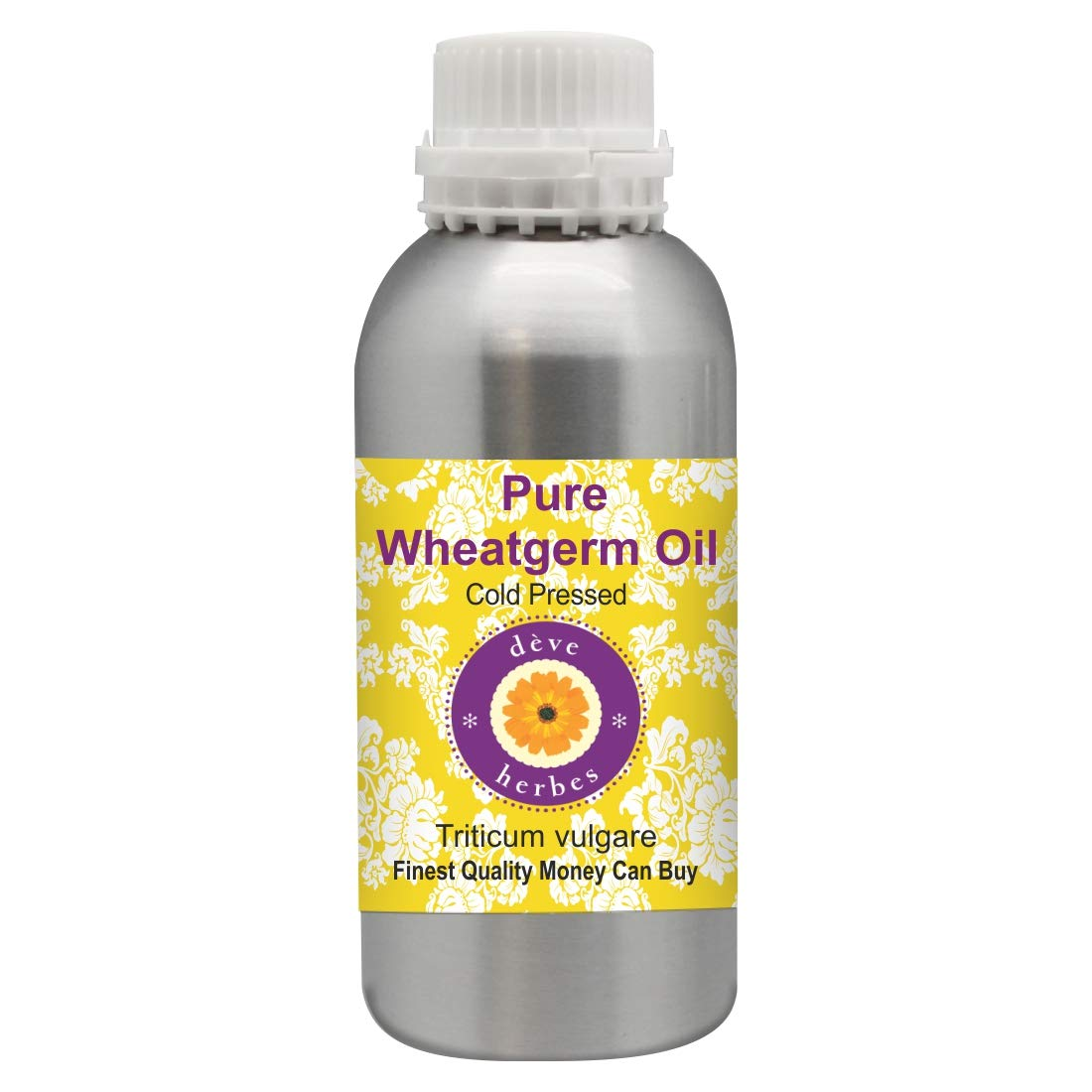 Deve Herbes Pure Sales for sale Wheatgerm Oil vulgare 100% Natural Branded goods Th Triticum