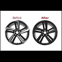 Chrome Trim Delete Vinyl Kit Blackout Overlays Compatible with 2018 2019 Honda Accord Sedan Sport Wheels Rims (Matte Black)