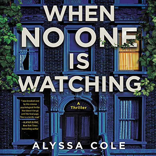 When No One Is Watching audiobook cover art