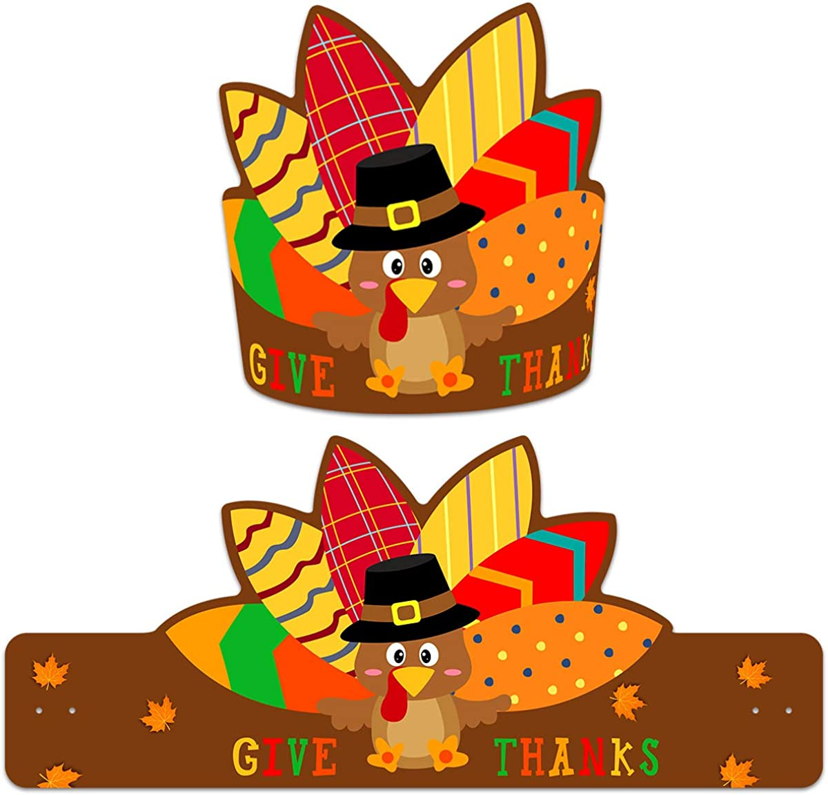 Thanksgiving Turkey Hats Pack of A Max 42% OFF Decoration Discount is also underway 30 for Kids