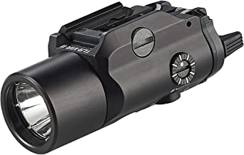 Streamlight 69192 TLR-VIR Ii Visible LED/IR Illuminator/IR Laser with Rail Locating Keys & CR123A Lithium Battery - Black - 300 Lumens