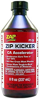 Pacer Technology (Zap) Kicker Refill Adhesives, 8 oz