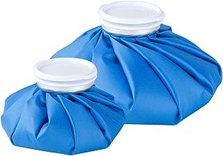 アイシングバッグ 結露なし 水漏れ防止 大口径 アイスバッグ 繰り返し利用 ケガ 熱中症 スポーツ用 頭痛 歯痛 発熱 肩痛 関節痛 温冷両用 2サイズセット