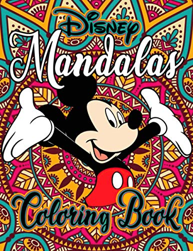 Mandalas Coloring Book: Awesome Gifts For Fans To Relax And Relieve Stress. Giving Many Illustrations Of Mandalas