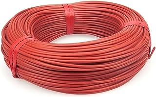 DZF697 1PC 10 à 100 mètres Câble Chauffant Chaud au Sol de 12K 33OHM / m Fils de Chauffage en Fibre de Carbone (Taille : 1...