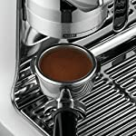 Breville Fully Automatic Espresso Machine, Oracle Touch 15 SWIPE. SELECT. ENJOY: With automation at every stage, simply swipe and select for espresso, long black, latte, flat white or cappuccino and enjoy caf? quality coffee at home DOSE AMOUNT: The integrated conical burr grinder automatically grinds, doses and tamps 22 grams of coffee, similar to the commercial machine in your favorite cafe PRECISE WATER TEMPERATURE: The difference between an ashy or balanced tasting espresso can be caused by temperature change as little as 2?F. The Oracle Touch uses digital temperature control (PID) technology, this ensures the temperature is kept at its optimum range.