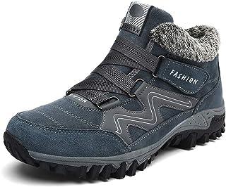 Cutogain dames winter Thermal Villi laarzen leer platform hoge top warme schoenen