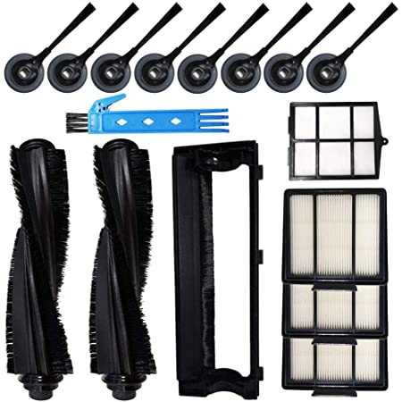 Filter Brush Set For Shark ION Robot S87 R71 R72 R85 RV850 Vacuum Cleaner Parts