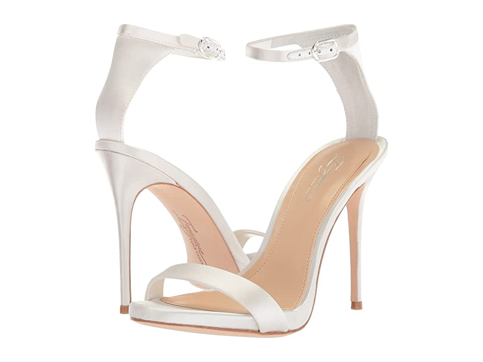 Imagine Vince Camuto Dacia (Pure White Deluxe Satin) High Heels