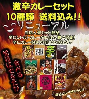 激辛カレーセット 10種類 【スパイシーカレー詰め合わせ】