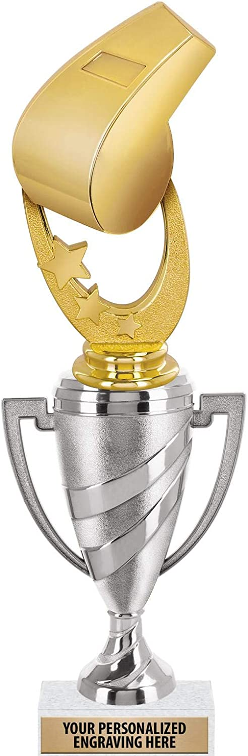 Crown Awards Whistle Gifts Trophy 12