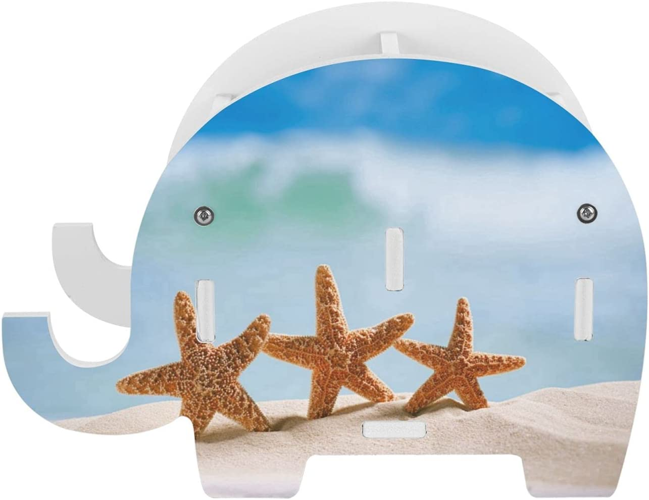 ZXZNC Starfish Waves Genuine Splashing On Beach Blue Max 53% OFF Sky Holder Pen for