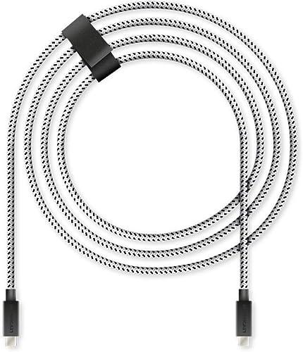 Lioncast PS5 4m câble de charge rapide pour Sony PlayStation 5 | Câble de la manette Ps5 pour manette Dualsense | Câb...