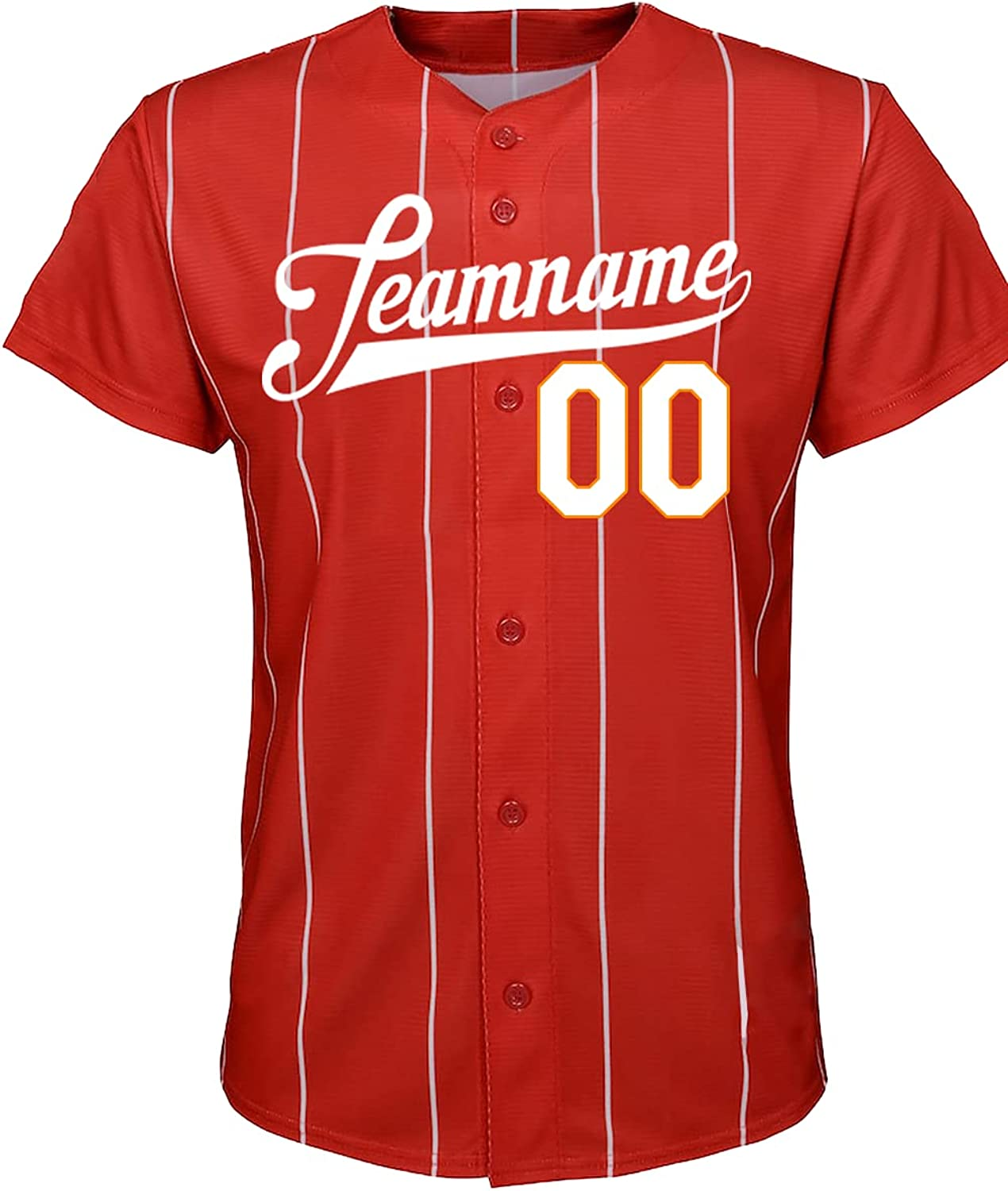 Custom Novelty Low price Button-Down All stores are sold Baseball Jerseys Personalized Printed