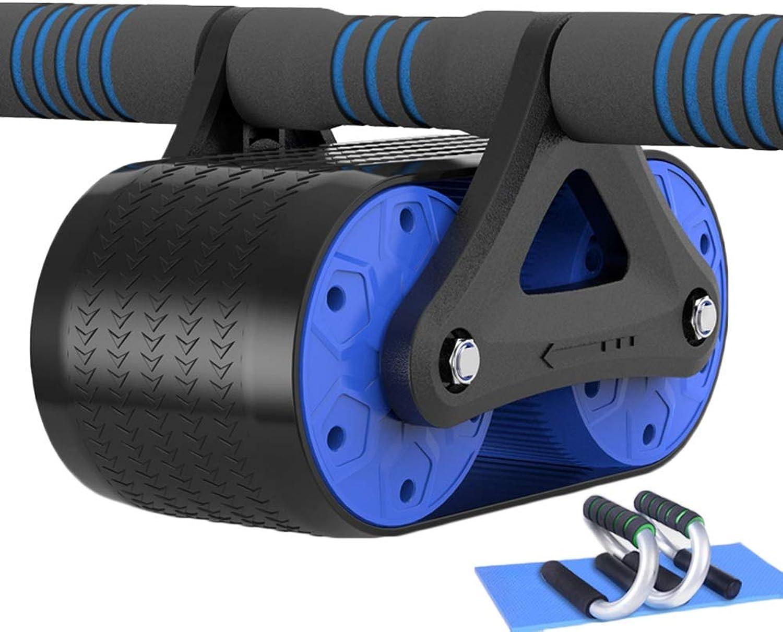 JIANFEI Ab Abdominal Roller Fitnessstudio Zuhause Doppelrad Belastbarkeit 500 Kg 2 Farben 2styl