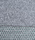 Rasenteppich Kunstrasen 200 cm Breite Farbe hellgrau (250 x200 cm)