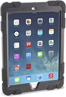 Caseiopeia 360 Rotating Kickstand Rugged Case with Screen Protector for iPad Air 2 (KSR-IPA2-BLK)