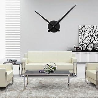 URAQT Moderno Reloj de Pared 3D de Aluminio DIY Reloj de Pared de Moda para Decoración de Casa, Habitación, Oficina