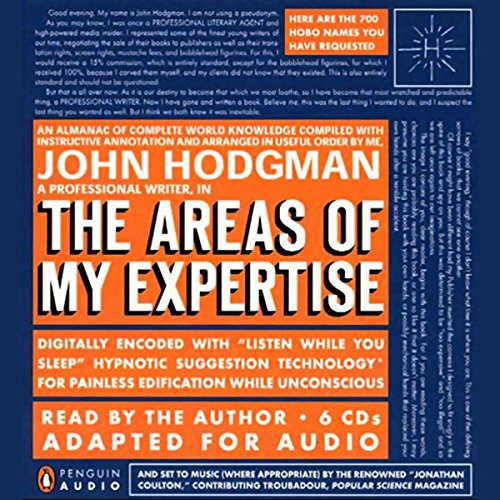 The Areas of My Expertise Audiobook By John Hodgman cover art