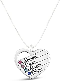 Domed Multi Color LMT Custom Engraved Baby Feet Heart Locket Necklace