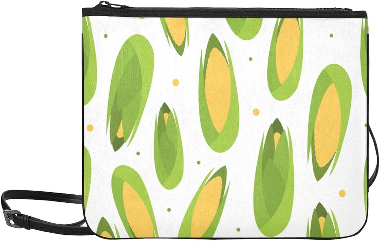 Handbag Superlatite Zippers Corn Yellow Shoulder Particlur Adjustable New color Strap