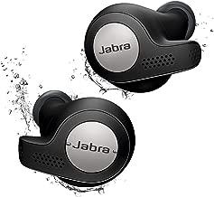 Jabra Elite Active 65t Alexa Enabled True Wireless Sports Earbuds with Charging Case – Titanium Black (Renewed)