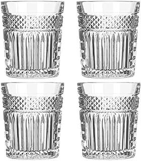 Libbey - Radiant - Whiskyglas, Wasserglas, Saftglas - Transparent - 4 Stück - 350 ml