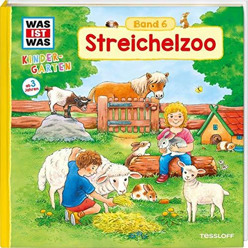 WAS IST WAS Kindergarten, Band 6. Streichelzoo: Kaninchen, Meerschweine und Ponys - erstes Wissen ab 3 Jahre