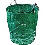 CampTeck U6667 500 Litri Sacchi Compatibile con Rifiuti da Giardino Robusta Polipropilene Riutilizzabile Borsa da Giardino