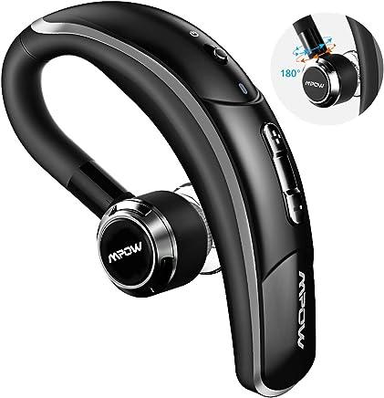 Mpow Oreillette Bluetooth sans Fil en Voiture Kit Oreillette Bluetooth avec Micro CVC 6.0 / 280H d'Autonomie Ecouteur Invisible Mains Libre Compatible avec Samsung, iPhone, Huawei, Wiko, etc