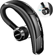 Mpow Auricolare Bluetooth 4.1 con CVC 6.0 Microfono Stereo, CSR Chip e Tecnologia di Catturare Voce Chiara, 4 Tasti per Facile Operazione, Cuffia Bluetooth Senza Fili con Earbud Regolabile 180°