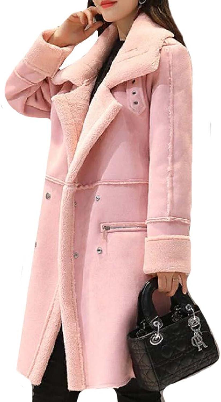 RDHOPEWomen Premium Wollen Soft and Warm Travel Safari Pea Coat