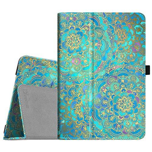 Fintie Schutzhülle für Asus ZenPad 3S 10 Z500M/ZenPad Z10 ZT500KL – [Slim Fit] Premium PU-Leder Folio Stand Cover mit Auto Sleep/Wake für ZenPad 3S 10/Verizon Z10 9,7 Zoll Tablet, Blautöne