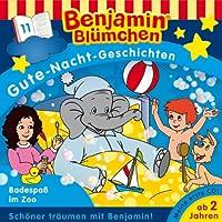 Badespaß im Zoo (Benjamin Blümchen Gute Nacht Geschichten 11) Hörbuch