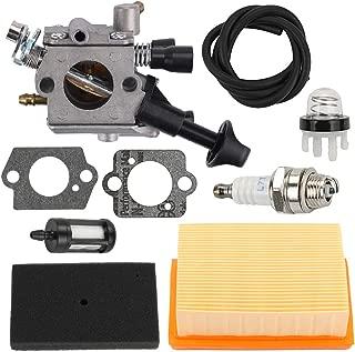 Yermax Zama C1Q-S210 Carburetor + Air Filter Repower Kit for Stihl BR350 BR430 SR430 SR450 Backpack Blower
