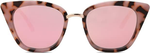 SOJOS Cat Eye Brand Designer Sunglasses Fashion UV400 Protection Glasses SJ2052
