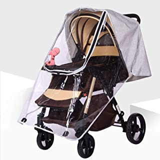 Baby Buggy Pushchair Universal Stroller Rain Cover Raincover Weather Shield Windproof Dust Snow Travel Outdoor Rain Cover ...