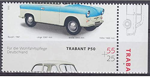 Goldhahn BRD Bund Nr. 2290 postfrisch  Verz ung Trabi ohne Dach Briefürken für Sammler